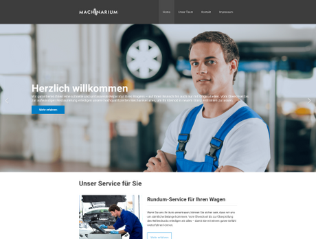 Fertige Homepage Templates   Webdesign-Vorlagen & Layouts   1&1