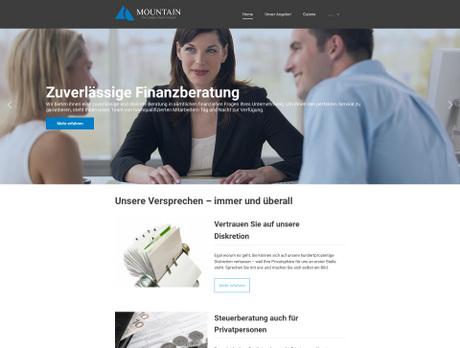 Fertige Homepage Templates | Webdesign-Vorlagen & Layouts | 1&1